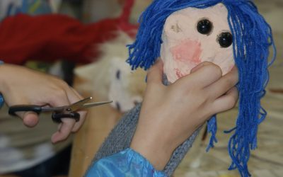 Confection d'une marionnette à gaine